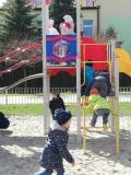 ierwsze Zabawy Dzieci Z Grupy III Na Nowym Placu Zabaw