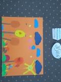 Konkurs plastyczny w grupie pt. Kalendarz grupy IV