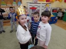 Urodziny Oli w grupie V