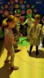 Zabawy z interaktywną podłogą w grupie V
