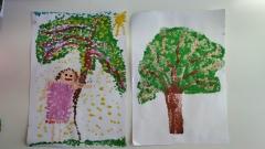 Zdjęcia prac dzieci z grupy III