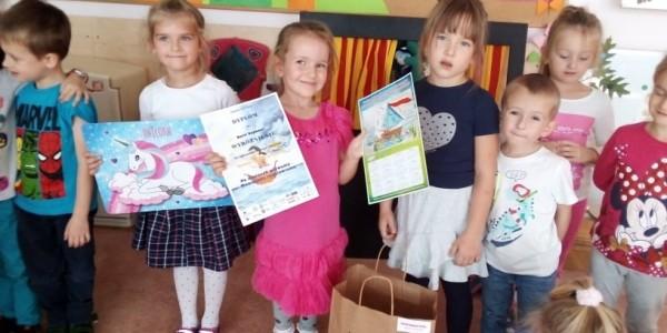 Wyróżnienie w konkursie dla Izabeli i Darii Grupa III